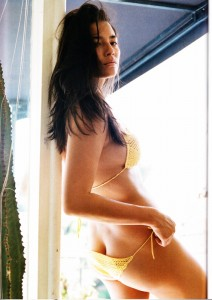 Crochet bikini Russh Magazine