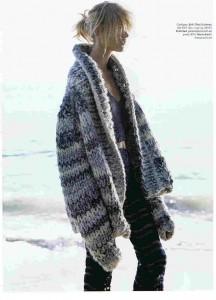 elle gigante shawl cardigan
